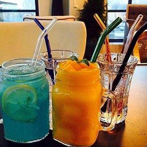 12 цвет специальный штраф изогнутые стеклянные пипетки окружающей среды стекло здоровья ребенка питьевой соломинки пипетки питьевой соломинки экологичный