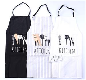 2017 Nouveau Femmes Hommes Tablier Commercial Restaurant Maison Tablier De Cuisine En Polyester Coton Tabliers