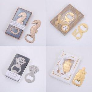 Wedding Door Gifts Seahorse con este anillo 50 años Poppin Baby Bottle Opener Despedida de Soltera Favores Recuerdos