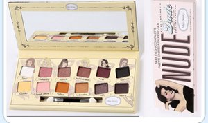 12 color European and American Hot Style Eyeshadow Plate Men's Head Women's Head Eyeshadow