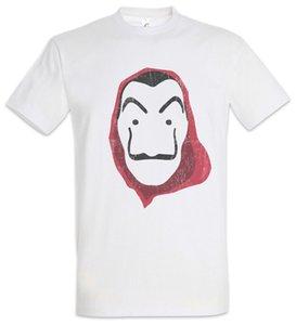 Máscara Dali II T-Shirt Máscara Dinheiro La Casa Heist de Papel Dali Profesor Denver