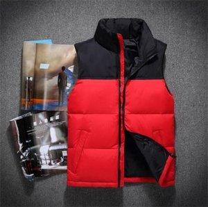 뜨거운 2018 남자 아래로 다운 재킷 북쪽 Polartec 조끼 남성 스포츠 후드 자켓 폭격기 지퍼로 칼라 야외 얼굴 코트