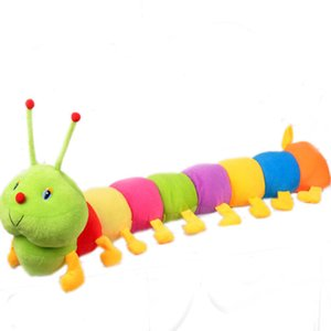 """Long120cm """"New Cute New Plush Multi color Caterpillar DOLL TOY GIFT NEW"""