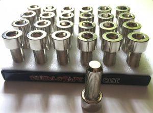 Silver Bolt Secret Versteckte Aufbewahrung Safe Metallbox Pillenetui Schraubbox Etui Stash Container mit Display Package Fashion Tool
