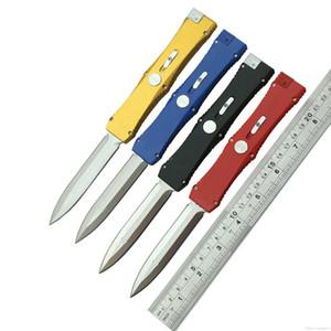 Auto-borda dupla fivela única ação única 3300 D / E lâmina facas táticas ao ar livre camping caça coleção de coleção de coleção estilo de estilo para homens 1pcs