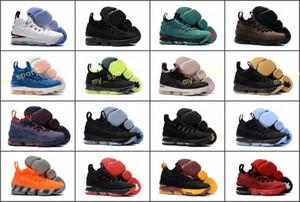 2018 Top qualité XV 15 Black Gum Université Rouge Pourpre Or Fantôme Sports Basketball Chaussures pour Hommes 15 s Zapatillas Formation Baskets Taille 7-12