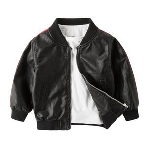 Babyinstar Jungen Ledermantel 2017 Neue Herbst Marke Kinderbekleidung Mode Kinder Jacke Outwear für 1-6Y Baby Jungen Mäntel
