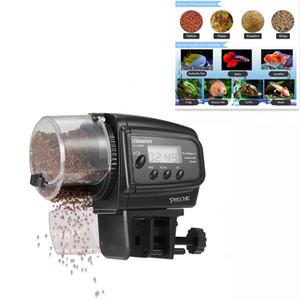 Digitale Automatische Fish Feeder Fütterung für Aquarium Fisch Frosch Tank Schildkröte Fischfutterspender 100 Stücke