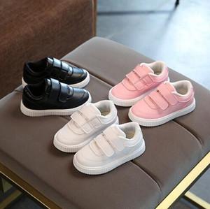 2018 детская повседневная обувь кожаные ботинки мужские женские мягкие подошвы кроссовки детская спортивная обувь дети малыша бренд детские кроссовки