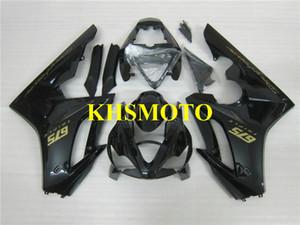 Kit de carénage pour moulage par injection pour Triumph Daytona 675 05 06 07 08 DAYTONA675 2005 2008 Kit carénage ABS noir brillant + Cadeaux DA01