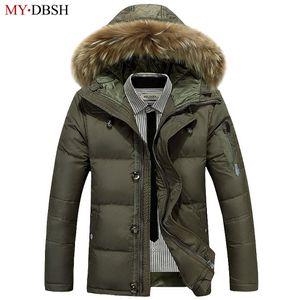 MYDBSH 브랜드 새 도착 남성 자 켓 높은 품질 남자 가을 겨울 의류 남자 캐주얼 재킷 패션 지퍼 따뜻한 후드 코트