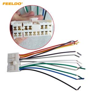 Adaptateur de faisceau de câblage stéréo audio de voiture FEELDO pour Hyundai / KIA (01 ~ 05) Radio OEM CD / DVD stéréo # 2742