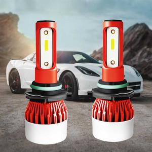 2 Pcs Phare De Voiture H7 H3 H1 H11 9006 9005 H4 LED Haute Faible Beam 72W 12000LM Phare Automatique 6500K Ampoule Led Lampe 12v 24V