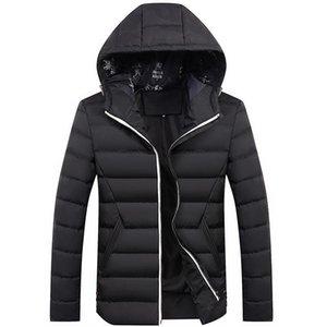 MRMT 2018 nagelneue Jacken der Männer mit Kapuze gepolsterter dünner unten Feder Mantel für männliche Waschbärjugend beiläufige wilde Waschbärmantel Jacke