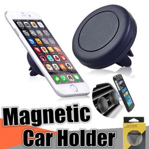 Support de téléphone magnétique pour téléphone intelligent avec aimant renforcé et conduite sécurisée Signal GPS sans effet pour iPhone X 8 Samsung S8