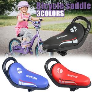 Seggiolino sella della bicicletta cuscino del sedile bambino con maniglie di sicurezza della sella della bicicletta Kids Bike Cycling