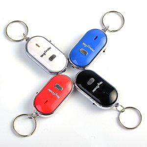 Wireless Whistle Key Finder elektronische Anti-Diebstahl-Edelstahl Kunststoff Finder Schlüsselanhänger Anti-verlorene Gerät