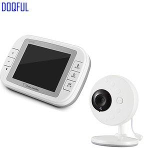 """Monitor portatile di temperatura wireless da 3,5 """"con baby monitor digitale, ninnananna, Baba Electronics, Com. Videocamera per bambinaia"""