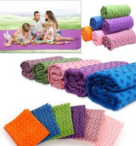 Wholesale-Non Slip Yoga Mat Cover Towel Blanket Sport Fitness Exercise Pilates Workout HOT 20pcs lot