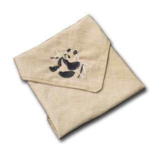 Animal Embroidery Handkerchiefs Women and Men Hanky Vintage Cotton Linen Handkerchiefs for Children