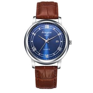 Men's Fashion Quartz Wristwatch Retro Design Business Male Analog Quartz Wrist Watch Bracelet Casual Simple Style Gift 4A