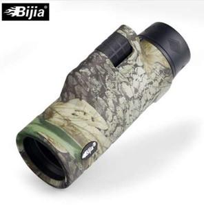 BIJIA 10x42 монокуляр 4 цвета путешествия телескоп Bak4 Призма многослойное покрытие ручной фокус для охоты наблюдение за птицами