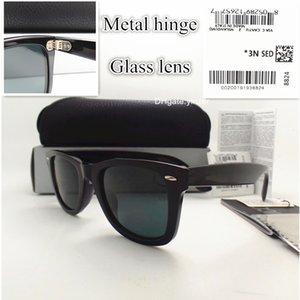 52MM Italy Sunglasses For Men Eyewear Brand Designer Glass Unisex Mercury Hinge UV400 Plate Women Lens With Glasses Sun Case Box Xiowj