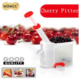 Novità Cherry Pitter Stone Corer Remover Machine Cherry Corer con contenitore Utensili da cucina Utensili da cucina