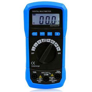 BSIDE Handheld Auto Range цифровой AC/DC мультиметр портативный электрический тестер Instrusment инструмент с частотой тестер частоты метр тестер