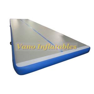 Air Track Tumbling Mat Inflatable Turnmatte Turngerät Tumble Spur für Ausbildung, Cheerleading, auf dem Wasser mit Pumpe Freies Porto