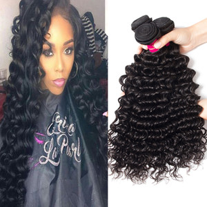 9A Peruvian Human Hair Bundle Straight Body Wave Loose Wave Kinky Curly Deep Wave 100% Unprocessed Brazilian Peruvian Malaysian Indian Hair