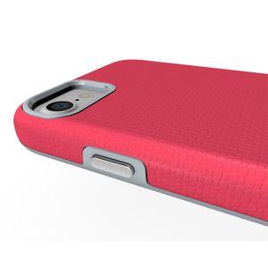 PC + TPU защищает броню для iPhone 7 Case 2 в 1 Силиконовый жесткий чехол для телефона Fundas для 6 6 S plus iphoneX