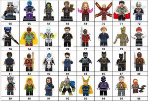 Wholsale Super hero Mini Figuras Marvel Vingadores DC Liga da Justiça Mulher Maravilha Ironman Batman Deadpool blocos de construção de crianças presentes