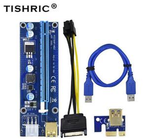 2018 Ver009S PCIe PCI-E PCI Express Riser Card 1X 4x 8x 16x USB 3.0 Cable