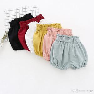 Bebek Şort Toddle erkek kız ins kısa yaz bebek çocuk Yenidoğan comfortale Bezi Butik Altında pantolon Clothes gevşek