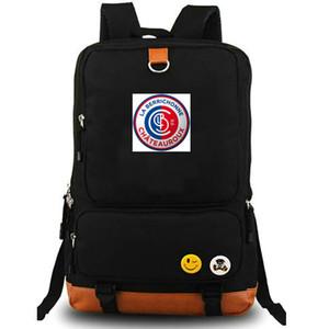 Chateauroux sırt çantası La Berri daypack LB Futbol bilgisayar araci schoolbag Futbol günü paketi Spor okul çantası Açık sırt çantası
