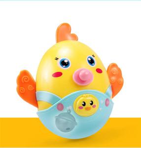 BEI JESS Chicks Baby Mobiles campana Asiente Tumbler sonajeros Roly-poly mordedor Juguete divertido para el regalo del recién nacido