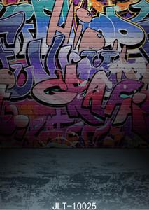 мультфильм граффити стены фото фон Шпаклевка фотографии фон винил ткань фон для фото студии уличного фона