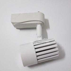10W dimmbare Tracking-Beleuchtung in Schwarz-Weiß-Track-Kopf-Track-Lampe Bridgelux warm / Tag / kalt-Weiß-LED-Licht 20St