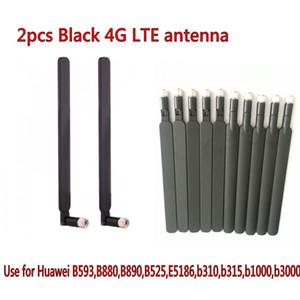 أسود / أبيض اللون 5dbi 4G LTE الهوائي هواوي b593 B890 B315 B310 B880 B525