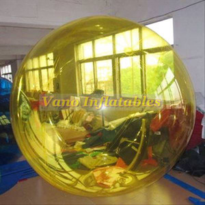 المياه Zorb التجارية PVC كرات الهامستر الإنسان كرة الماء نفخ 1.5M 2M 2.5M 3M مع جودة Tizip زيبر البريد مجانا