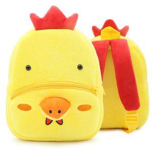 Chicken rucksack Chook Tier leichte Tagesrucksack Schultasche für Kleinkinder Rucksack für Kinder Plüsch Rucksack Sport Schultasche Outdoor Tagesrucksack