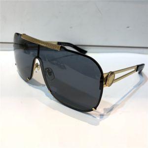 Luxo 2168 Sunglasses For Men Design de Moda Full Frame UV400 Lente de proteção UV Steampunk Estilo Quadrado Comw Com Pacote de Verão