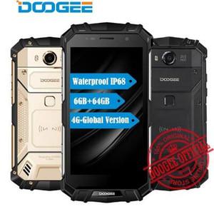 DOOGEE S60 6GB RAM 64GB ROM MTK Helio P25 Octa Core Android 7.0 5.2'' FHD Screen IP68 Waterprrof Smartphone 21.0MP 5580mAh