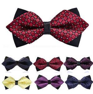 패션 1PC 나비 넥타이 공식적인 상업 나비 넥타이 패션 남자의 Bowties 남자 액세서리 Butterfly Cravat Bowtie 나비