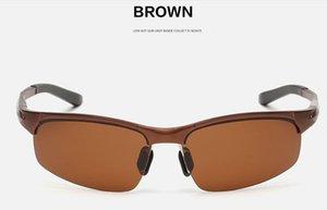 남성 스포츠 알루미늄 마그네슘 편광 선글라스 합금 안경 S6806