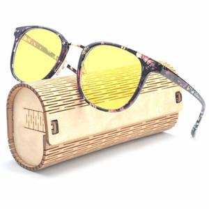 MINCL / nuit conduite lunettes anti-éblouissement vision polarisée HD hommes pêche occhiali femme lunettes rétro lunettes de sécurité jaune FML
