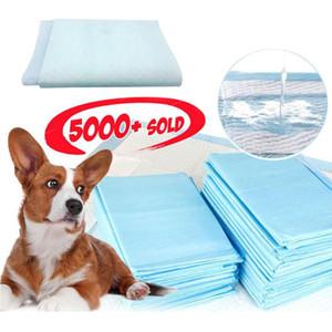 5шт Супер Абсорбент Pet Пеленки Кинологический Pee колодки Healthy Clean Влажные коврик для собак Кошки