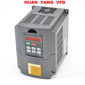 HUAN YANG Quality Variable Frequency Drive Inverter VFD 3 Phase NEW 5HP 4KW 220V 250V 380V available