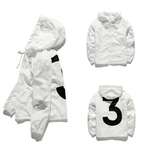 HIP Jacket Hip Hop Windbreaker Fashion Vestes Hommes Femmes Streetwear Vêtements De Vêtements De Vêtements De Hip Hop Qualité JK001